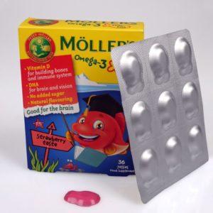 Möller's Omega-3 Jelly Fish