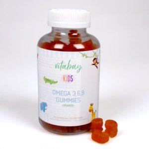Omega 3, 6, 9 Gummies orange von vitabay